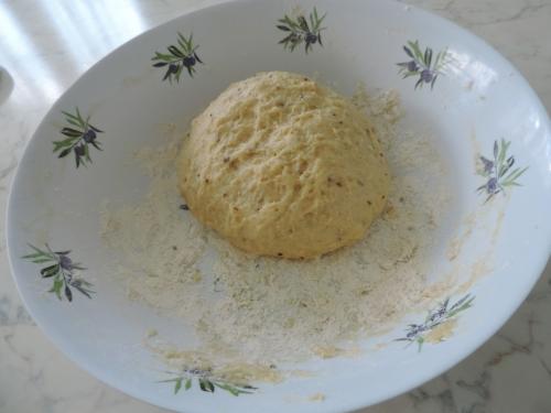couronne à l'anis pâte