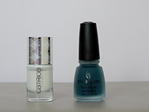 VERNIS A ONGLE CATRICE ISLE OF WHITE - FAST FREEZE QUICK DRY CHINA GLAZE